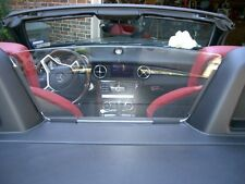 MERCEDES R172  2012,13,14,15,16 SLK  WINDSCREEN, WINDBLOCKER, WIND DEFLETOR