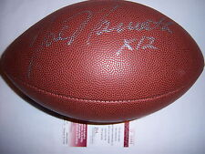 JOE NAMATH JETS,ALABAMA JSA/COA SIGNED FOOTBALL