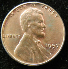 1957 LINCOLN WHEAT CENT - RB