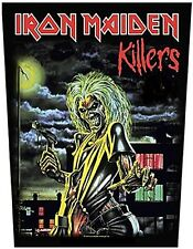 Iron Maiden Killers (full Eddie) backpatch sew-on patch (ro)