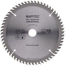 Lame de Scie Circulaire Ø250mm X 30,0mm Perçage 80 Dents Universelle