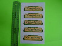 VINTAGE BIKE BICYCLE OLD SCHOOL WATER FRAME DECALS QUEBEC STORE V. ST-ONGE NO2