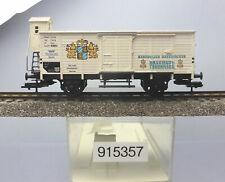 """Fleischmann 91 5357; Gedeckter Güterwagen """"Brauhaus Tegernsee"""" TAG, OVP /J843"""