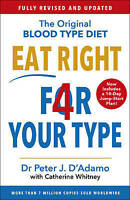 Eat Right 4 Your Type by Peter D'Adam  9781784756949