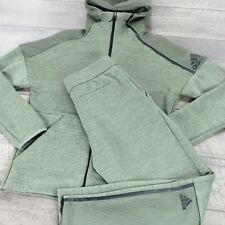 Adidas ZNE Fast Release Mesh Tracksuit DP5147 In Green RRP £150