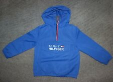 Tommy Hilfiger Boys Blue Wind-Breaker Rain Jacket - Size...