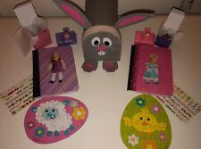 American Girl Doll Sized Easter Bunny Mailbox W Journal Puzzle & Camera Stickers