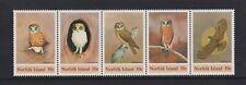 Norfolk Island - 1984, Boobook Eule, Vögel Set - MNH - Sg 338/42