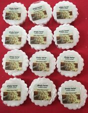 12x White Linen And Lace Yankee Candle Tarts
