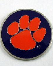 5 NCAA Collegiate Golf Ballmark Ballmarker Ball mark ballmark Clemson Paw Purple