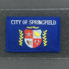 Tactical Outfitters - CITY OF SPRINGFIELD FLAG MORALE PATCH - the simpsons bart