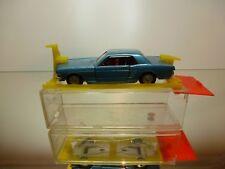 SABRA GAMDA KOOR 8106 FORD MUSTANG - BLUE 1:43 RARE - GOOD IN GARAGE-BOX