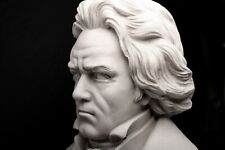 Ludwig van Beethoven, Composer, Musician, Marble Sculpture, Gift, Ornament.