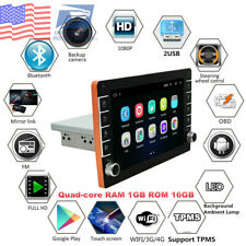 Universal 1Din 8inch Android 8.1 Adjustable Car Stereo Radio GPS Wifi 3G 4G 16GB