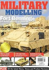 Military Modelling Aug.2013 Fort Bennning US Army Vehicles Confederate Bust T-40