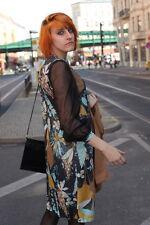 ROSIMEX Kleid Abendkleid Lurex Viscose Glitzer 70er True Vintage 70s Fashion