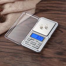 Portable Pocket Digital Scale Balance Mini LCD Jewellery Gram Weight 0.01g 500g