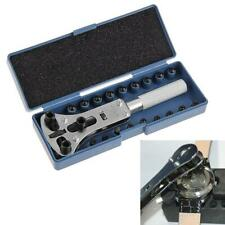 Adjustable Watch Back Case Cover Opener Remover Wrench Repair Kit Tool