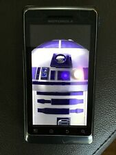 Motorola Verizon Droid 2 A957 8GB Slider Cell Phone Star Wars R2-D2 Android