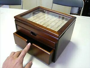 Toyooka Craft Wooden Fountain Pen Box SC63 Senior Collection Made in Japan New