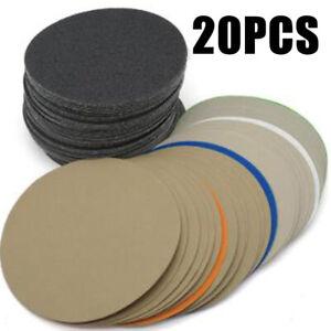 20pcs Mouillé/Sec 15.2cm 400-10000Grit Sable Papier Sablage Disques for