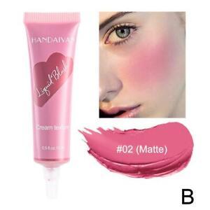 Milk Tea Blush Peach Pallete 6 Colors Face Mineral Pigment Cheek Blusher Powder