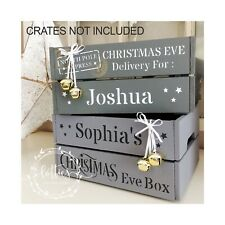 STENCIL Panel Mix & Match Individual Christmas Eve Crate MAKE YOUR OWN Reusable
