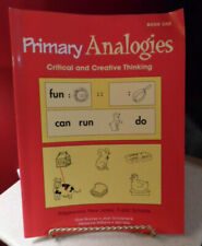 Homeschool Primary Analogies Critical & Creative Thinking Book 1 Epc Educators