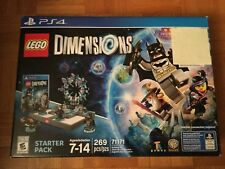 LEGO Dimensions: Starter Pack (Sony PlayStation 4, 2015) Open Box, NO Supergirl