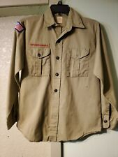Boy scouts Of America Uniform Long Sleeve Shirt Size Youth Large.        L