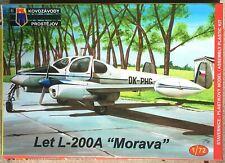 LET L-200A Morava, Czech Twin, KOVOZAVODY PROSTEJOV 1/72