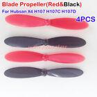 4Pcs Blade Propeller for Hubsan X4 H107 H107C H107D RC Quadcopter Drone Part