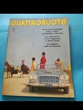 QUATTRORUOTE nr. 125 del 1966 (ed. Domus)