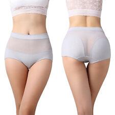 Para mujeres algodón de la Alta Cintura Cadera Ropa Interior Bragas hembra