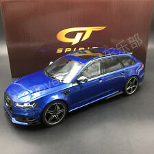 AUDI abate rs6 performance Sepang Blue GT-SPIRIT gt755 Asian Edition le 504 W. COA