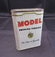 Vintage Model Smoking Tobacco Litho Tin for Pipe or Cigarette, w/ Tobacco Inside