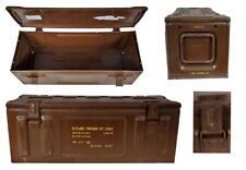 britannique Boîte de transport MK 2 sv57 marron utilisé munitions conservation
