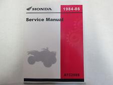 1984 1985 1986 HONDA ATV ATC200S ATC 200 S Service Shop Repair Manual NEW HONDA