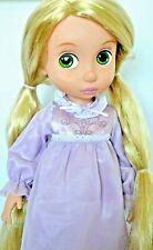 Disney Rapunzel First Edition Animator Doll Tinsel/Glitter Hair/Night Dress