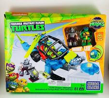 Mega Bloks Teenage Mutant Ninja Turtles Helicopter Turtle Chopper Building Set