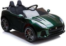 Kinder Elektroauto Jaguar F-Type 12V British Racing Green Kinderfahrzeug neu