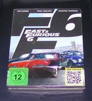 Fast Furious 6 Limitata steelbook Edizione blu ray Nuovo e Confezione Originale