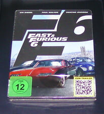 FAST & FURIOUS 6 LIMITED STEELBOOK EDITION BLU RAY NEW & VINTAGE