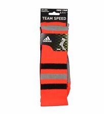 Adidas Team Speed Climalite Lg Crew Sock-Infrared/Black/Aluminum 2/Electricity