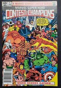 Marvel Super Hero Contest of Champions #1 (1982, Marvel, Limited Series) VF