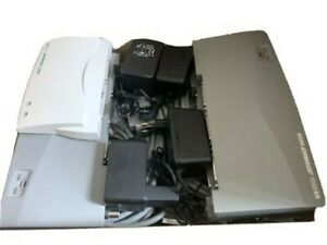 3x HP Jetdirect 500X und 1x HP Jetdirect 170X Printserver mit Druckerkabel