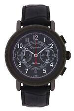 Gigandet Herrenuhr Red Baron IV Uhr Armbanduhr Leder Grau Schwarz G19-002