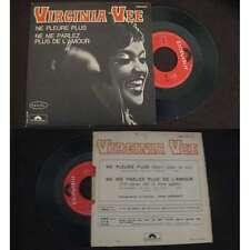 VIRGINIA VEE - Ne Pleure Plus Rare French PS Soul 1970 BIEM