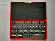 36 Pieces Accuracy Round Gage Space Block Set Hardened Steel 57 60 Hrc