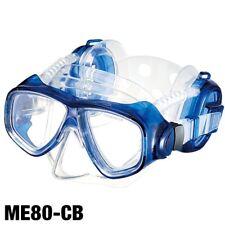 IST Pro Ear Dive Mask for FreeDiving Scuba Snorkeling Blue ME80-CB